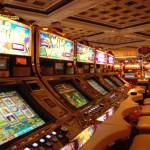 Slotmachines im Casino
