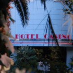 Eingang zum Flamingo Casino Hotel