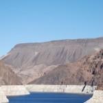 Blick auf den Lake Mead vom Hover Dam aus