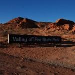 Einfahrt zum Statepark