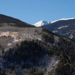 Rocky Mountain Szenerie am Highway 24