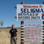 Route 66 bei Seligman in Arizona