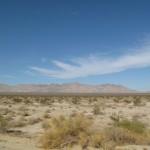 Weiter Himmel über der Wüste
