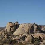 Felsformationen im Nationalpark