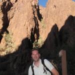 Sascha im Palm Canyon