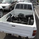 Umgebauter Pickup