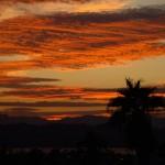 Abendhimmel über Lake Havasu