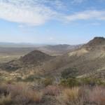 Blick von den Weaver Mountains Richtung Westen
