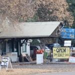 Verkaufsstand in Pine, Arizona