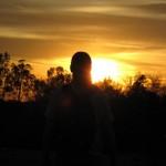 Sonnenuntergang im Papago Park