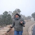 Schneesturm am Grand Canyon