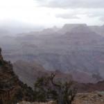 Sturm über dem Grand Canyon