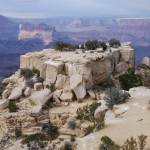 Felsen am Grand Canyon
