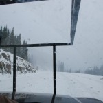 Winter am Wolf Creek Pass