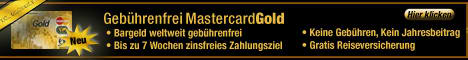 Gebührenfreie Kreditkarte